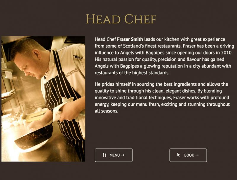 Restaurant Website Wordpress
